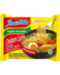 indomie Halal Chicken Curry Noodle 80 g (Pack of 40)