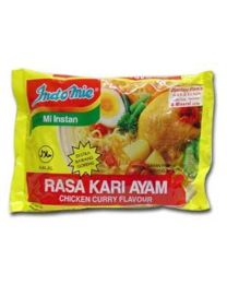 Indomie Instant Noodles Soup Chicken Curry Flavor for 10 Bags by Indomie