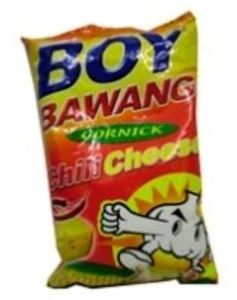 Boy Bawang Chilli Cheese Flavoured Fried Corn Snack 100G