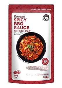 Ajumma Republic Korean Spicy Stir-Fried Pork BBQ Sauce 100G