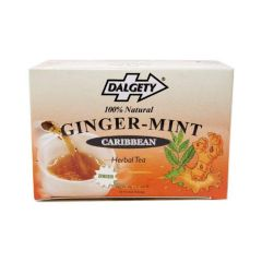Dalgety Ginger Mint Caribbean Herbal Tea, 18-Count