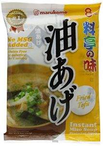 Marukome Instant Ryoutei-No-Aji Fried Miso Soup with Tofu 156 g