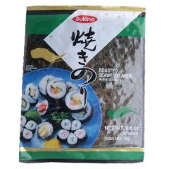 Sukina Korean Roast Seaweed (10 Sheet) - Sushi Nori 25g
