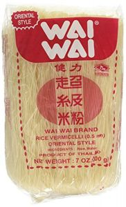 Wai Wai Rice vermicelli Oriental Style Instant Noodles, 200 g