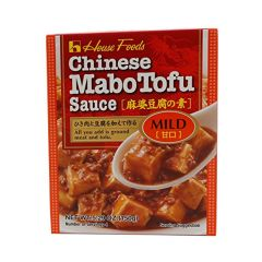 House - Chinese Mabo Tofu Sauce- Mild Net Wt. 5.29 Oz. by House