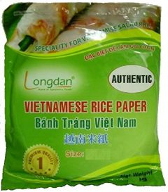 Round Vietnamese Rice Paper 16cm 500g Summer Fried Spring Roll Skin Wrapper Banh Trang Edible Food Prepare