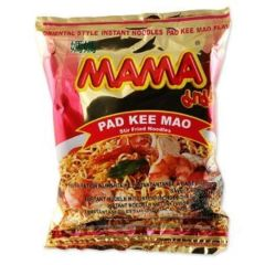 Mama Thai Instant Noodle Pad Kee Mao 60g (Pack of 5 packs)