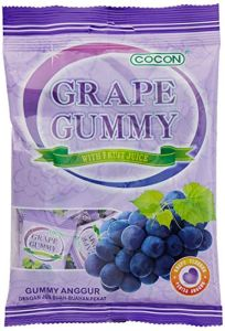Cocon Gummy Grape Jelly Sweets 100G (Pack of 3)