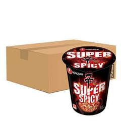 Nongshim Shin Red Ramyun Super Spicy Cup 68g (12 Cups)