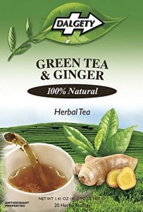 Dalgety Green Tea & Ginger Herbal Tea (20 Tea Bags)