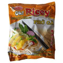 Oh! Ricey Instant Rice Noodles - Chicken - 24 Packets