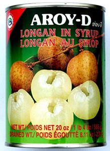 Aroy-D Longans in Syrup, 1 x 560 g