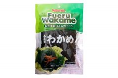WELL-PAC Fueru Wakame Dried Seaweed Great source of iodine for making Miso soup 56.7G