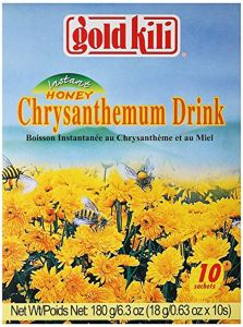 Gold Kili Instant Honey Chrysanthemum Drink Sachets (10 Sachets) 180g