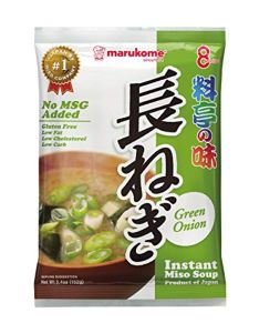 Marukome Instant Ryoutei-No-Aji Miso Soup with Slices of Green Onion 152 g