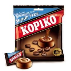 Candy Kopiko Sugar Free Size 75 G. 2 Pack by Kopiko