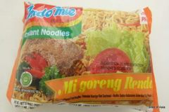 Indo Mie Instant Spicy Beef Fried Noodle Mi Goreng Rendang 80g x 5 packs
