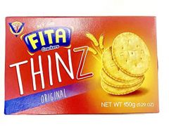 FITA Crackers Thinkz Original Biscuit 150G