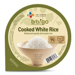 CJ Bibigo Cooked White Rice 210g (Pack of 5)
