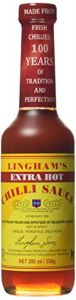 Linghams Extra Hot Chilli Sauce 280 ml