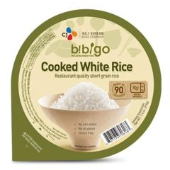 CJ Bibigo Cooked White Rice 210g
