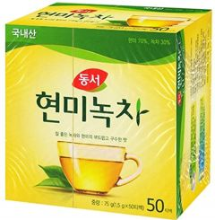Dong Suh Brown Rice Green Tea 50 Teabags 75g