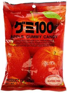 Apple Gummy Candy 107 g by Kasugai