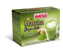 Gold Kili Instant Matcha Ginger Latte, 8.8 Ounce by Gold Kili [Foods]