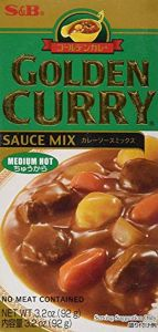S&B Golden Curry Sauce Mix - Medium Hot (Green) 92g
