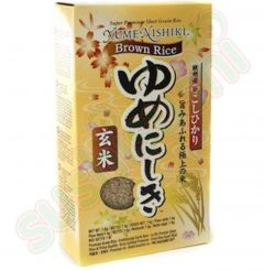 Yumenishiki Japanese Premium Brown Sushi Rice - 1kg