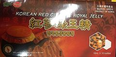 Korean Red Ginseng Royal Jelly 10ML x 10 Bottles