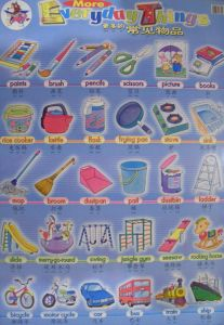 Chinese Bilingual Poster - More Everyday Things
