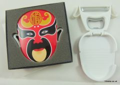 Red Chinese Opera Mask Multi Function Peeler Bottle Opener Fridge Magnet