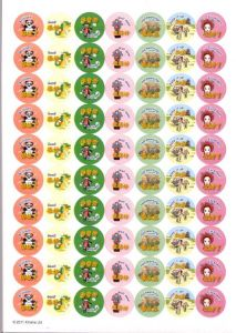 Chinese Theme Bilingual Reward Stickers   中国文化双语教师勉励贴纸