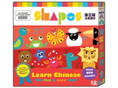 Shapes Chinese Books Volume 3 - Hard working and Perseverance(6 books+ DVD)