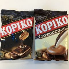 Kopiko Cappuccino and Original Coffee Candy 120g (Twin Pack)