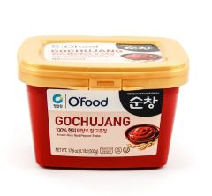 CJO Ofood Gochujang Brown Rice Red Pepper Paste 500g (Chung Jung One)