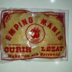 Labu Emping Manis Indonesian Sweetened Crackers (uncooked) 280G