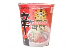 Nong Shim Cup Hot & Spicy Instant Noodle - 68g (12 cups)