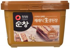 Daesang Sun Chang Doen Jang ( Soybean Paste) Korean Miso Paste 500g