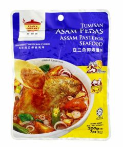 Tean's Gourmet Assam Paste for Seafood Fish 200g