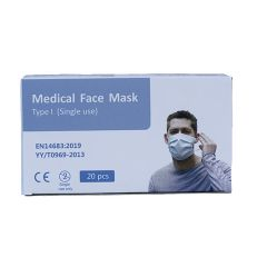 Medical Disposable Earloop Face Mask Type I (20 pieces Box)