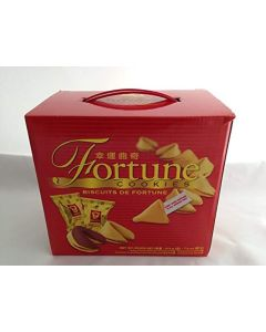 Garden Chinese Fortune Cookies Gift Box (Butter Flavoured 20pcs, Chocolate Flavoured 10pcs) 230g