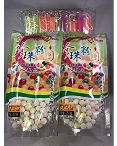 2 Packs of BOBA Color Tapioca Pearl Bubble With 1 Pack of 50 BOBA STRAW By KC Commerce