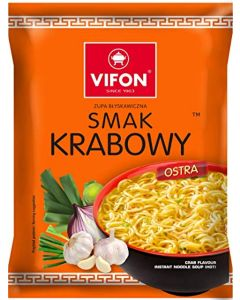 VIFON Crab Instant Noodles - 70G (Pack of 24)