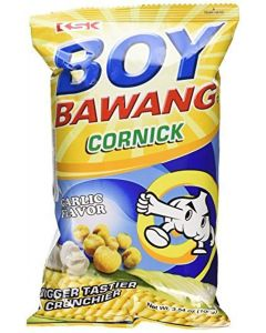 3-packs Boy Bawang, Cornick, Garlic Flavor 100g Ea by Boy Bawang