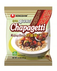 Nongshim Chapagetti Chajang Noodle, 4.5 Ounce Packages (Pack of 20) by Nongshim