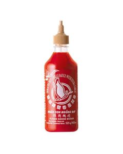 Flying Goose Brand Sriracha Hot Chilli Sauce with Extract Garlic 455ml