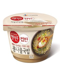 CJ Hetbahn Cupbahn Cooked White Rice with Beansprout Soup 270g