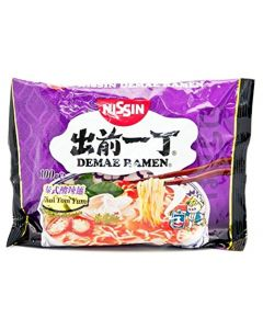Nissin Demae Ramen Instant Noodle Thai Tom Yum Flavour 100g (5 packs)